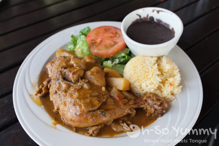 Chicken Stew at Cuscatlan Salvadorian Cuisine in Escondido