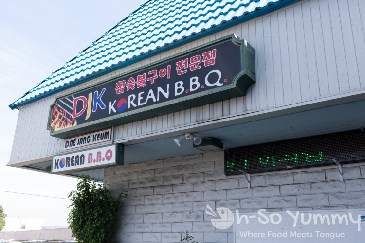 Dae Jang Keum korean restaurant