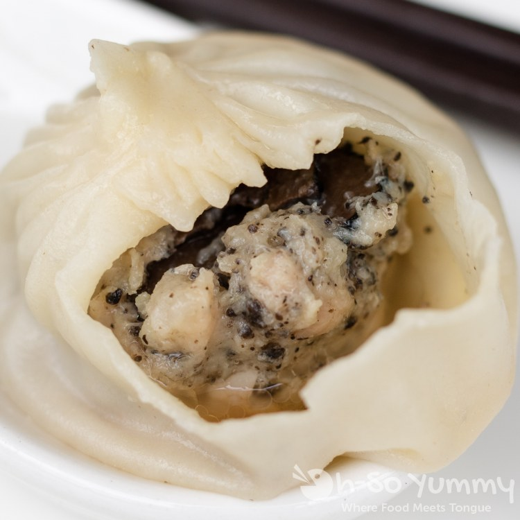 truffle and pork soup dumpling (XLB) at Din Tai Fung at UTC Mall in San Diego