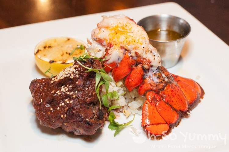 surf and turf  at Duck Dive in Pacific Beach San Diego