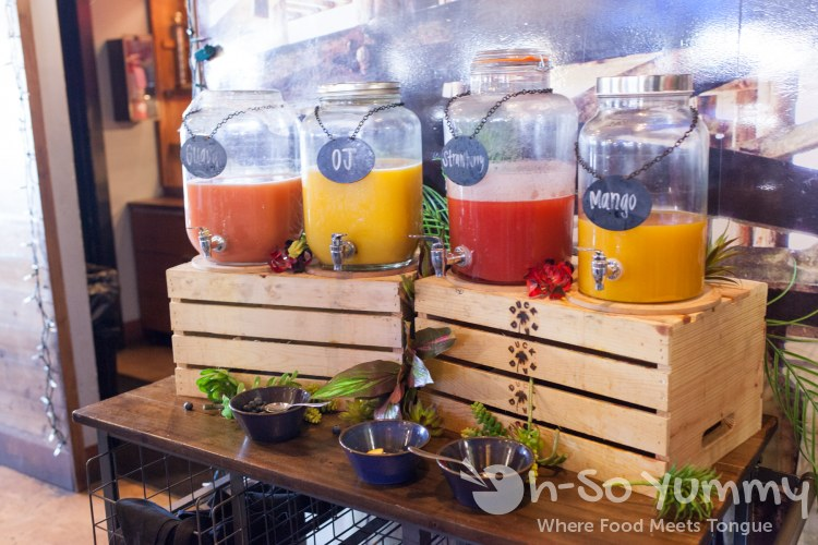 Mimosa Bar at Duck Dive in Pacific Beach San Diego