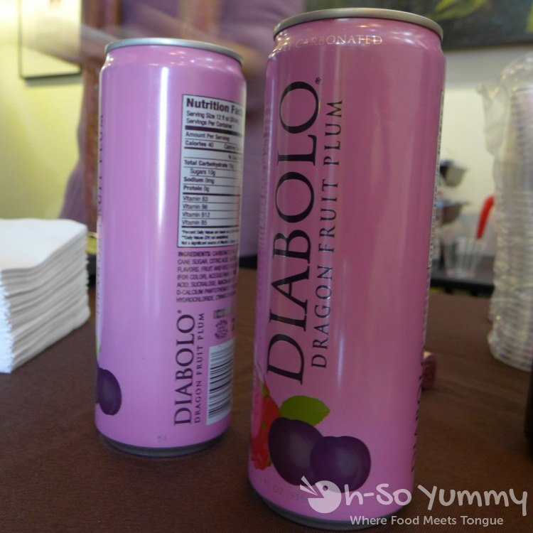 Escondido Chocolate Festival 2014 - Diabolo sparkling drink