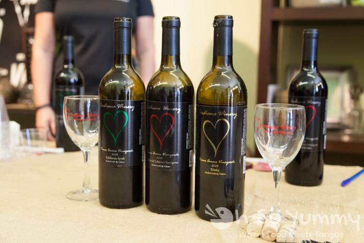 Escondido Chocolate Festival 2014 - Cordiano Winery