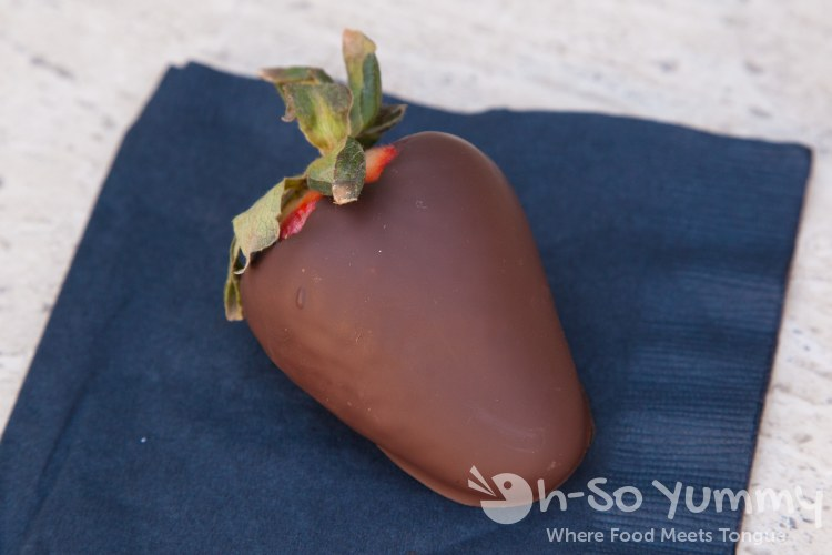 Escondido Chocolate Festival 2014 - California Avocado Grill - Chocolate Covered Strawberries