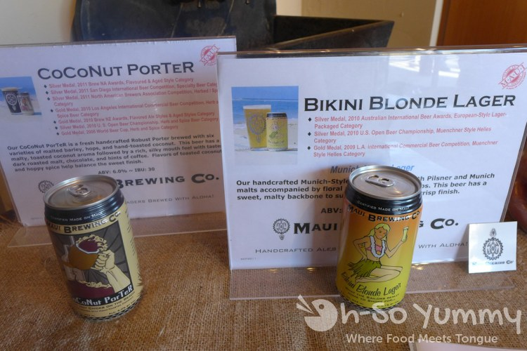 Escondido Chocolate Festival 2014 - Maui Brewing Company beer