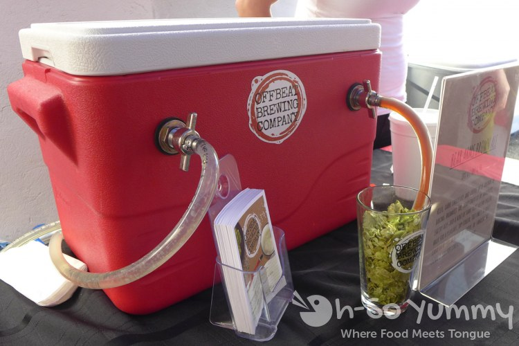Escondido Chocolate Festival 2014 - Offbeat Brewery cooler