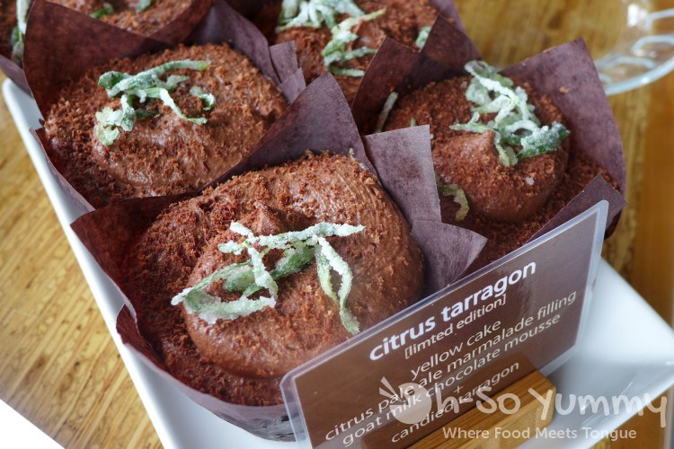 Eclipse Chocolates - Citrus Tarragon Cupcake