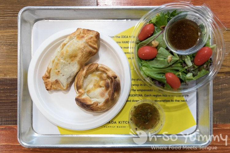 Meal Deal of 2 Empanadas and Salad at Empanada Kitchen in San Diego