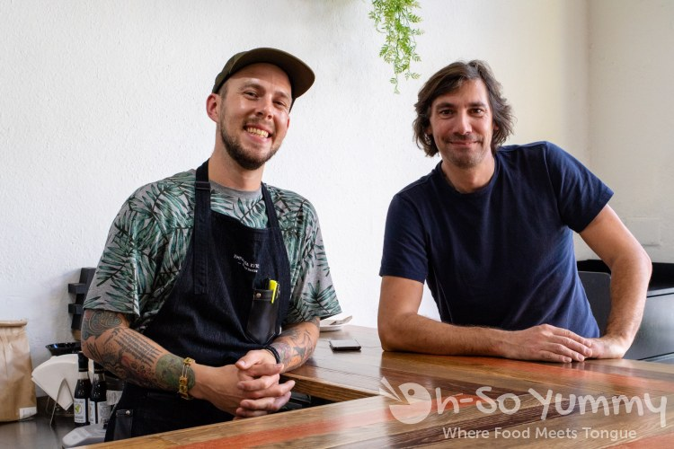 Dan and Matias of Empanada Kitchen in San Diego