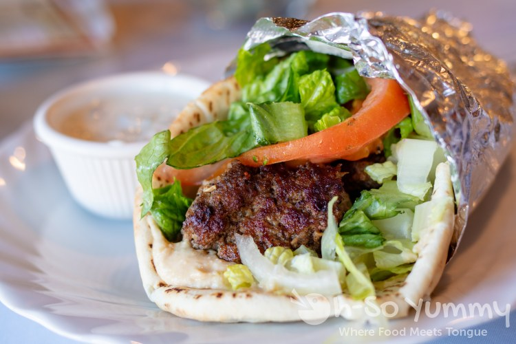 Fairouze Cafe beef kofta San Diego birthday deal