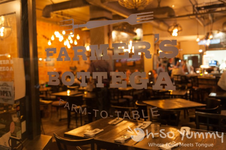Farmer's Bottega Restaurant in Mission Hills San Diego