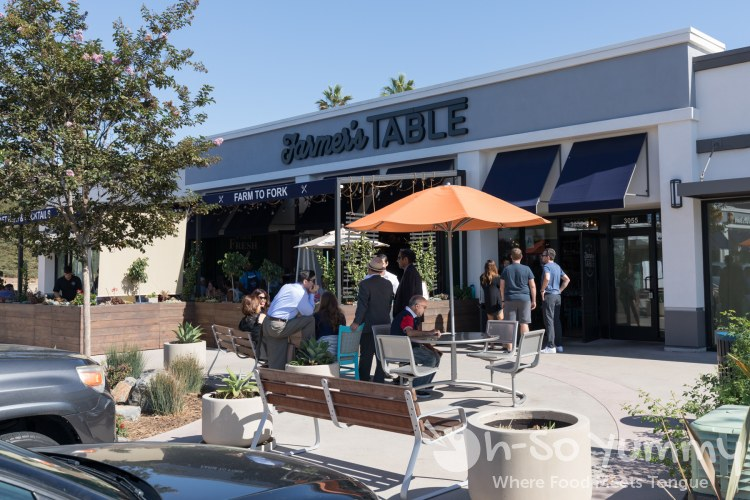 the best brunch at Farmer's Table Bay Park in San Diego
