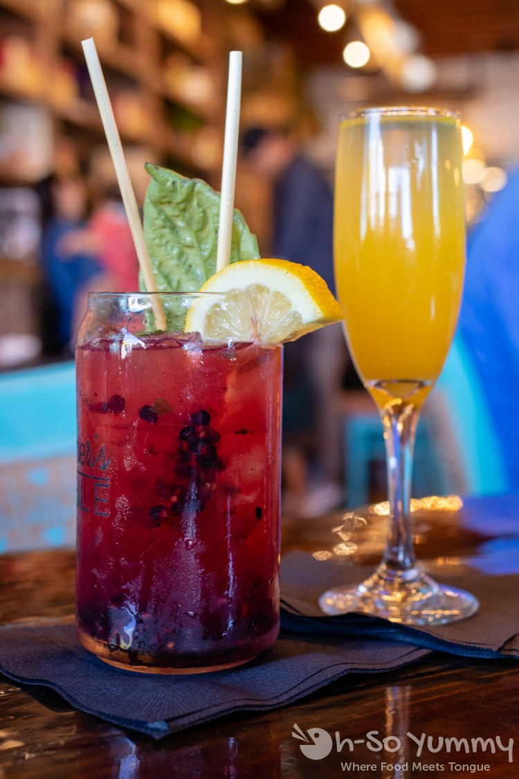 Cocktails and Mimosas at Farmer's Table Bay Park in San Diego