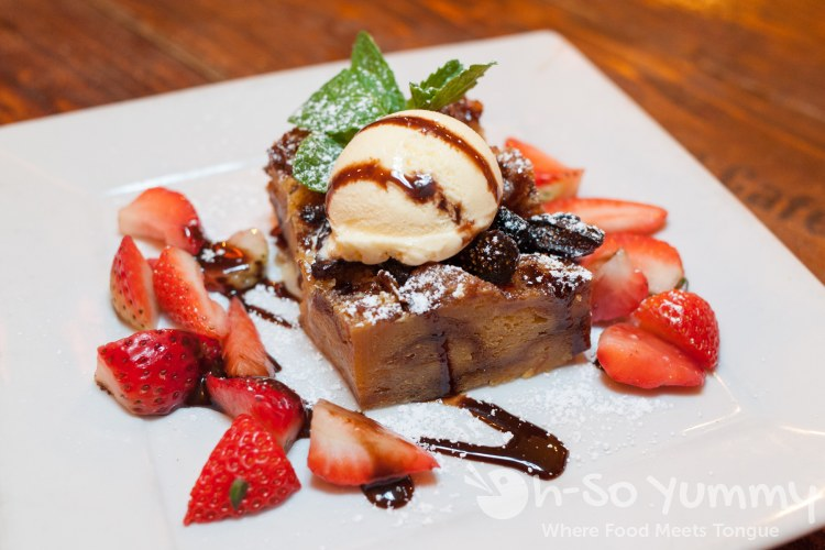 Fig Bread Pudding at Fig Tree Cafe (Liberty Station)