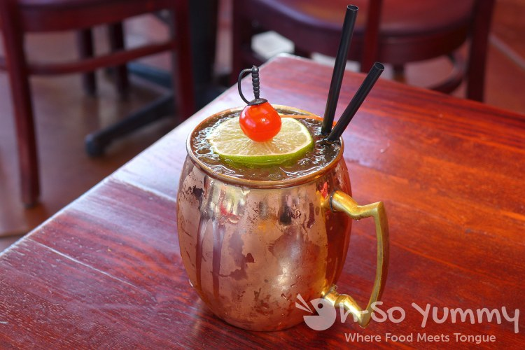 cherry mule at Firefly on Paradise off strip Las Vegas
