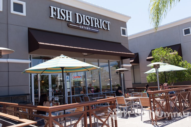 Fish District in the Carmel Mountain plaza in San Diego