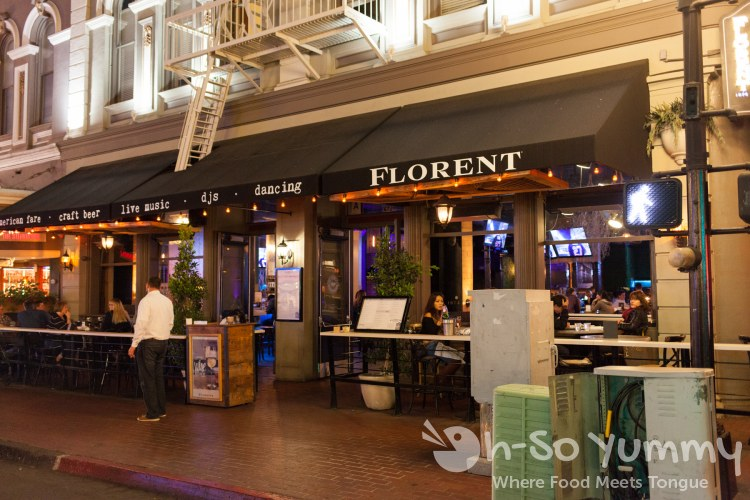Florent Restaurant and Lounge in San Diego gaslamp
