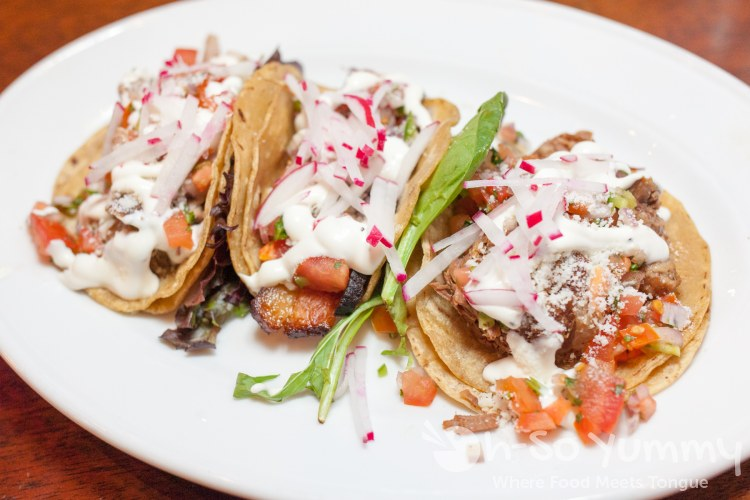 Taco Tuesday with 2.50 tacos at Gaslamp Tavern in San Diego