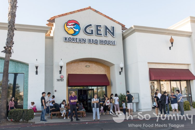 Gen Korean BBQ House in Mira Mesa of San Diego