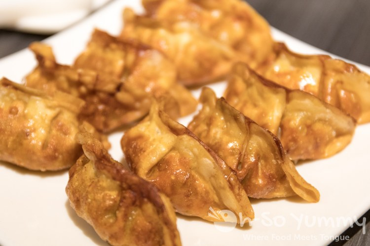gyoza at Gen Korean BBQ House in Mira Mesa of San Diego