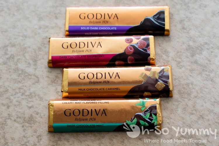 Godiva chocolate bars birthday deal