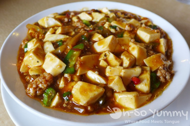 Golden City - mapo tofu
