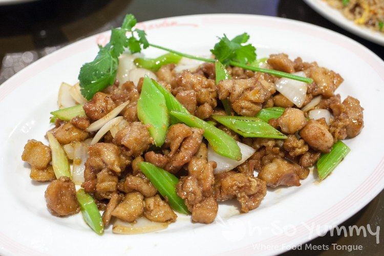 kung pao chicken at Grand Garden in Westminster