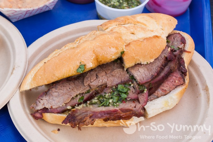 Argentine Tri-Tip Sandwich at Grand Ole BBQ Y Asado