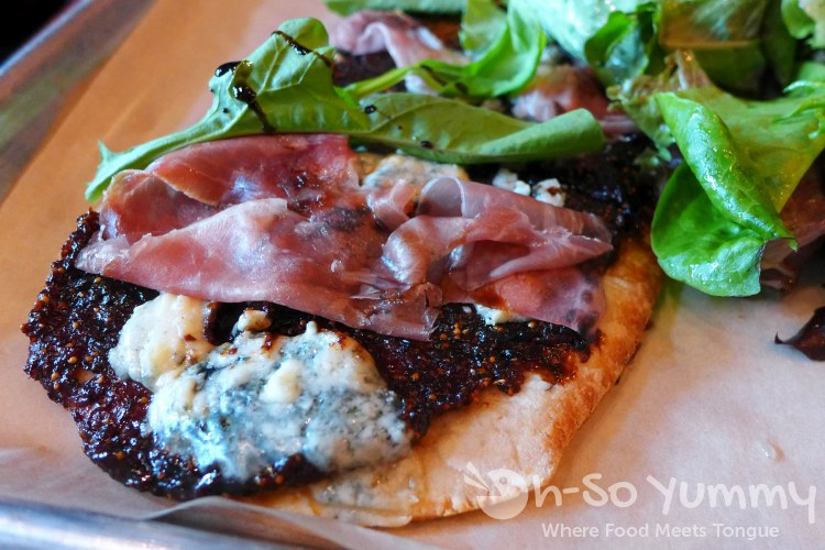 fig brick oven pizza at Green Acres Campus Pointe