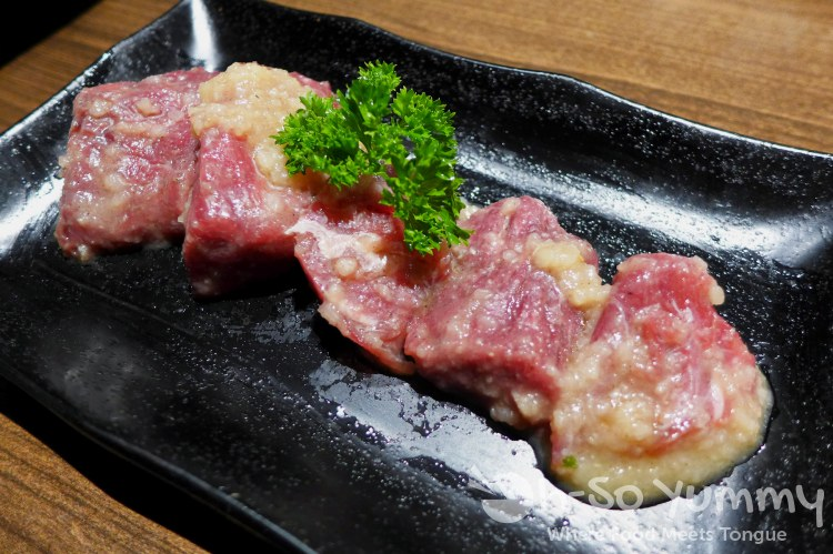Gyu-Kaku Japanese BBQ - Filet Mignon with Garlic