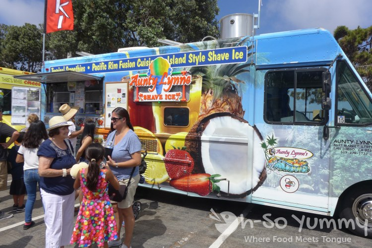 food trucks at Harborfest in Chula Vista