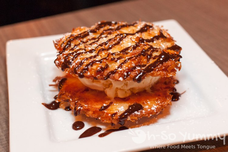 Coconut Macaroon Ice Cream Sandwich at Harley Gray