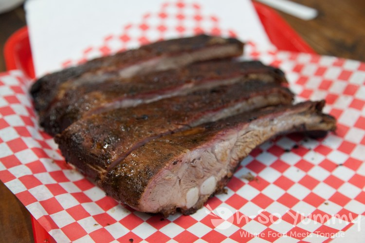 pork ribs at Harmon's Bar-B-Q and Catering