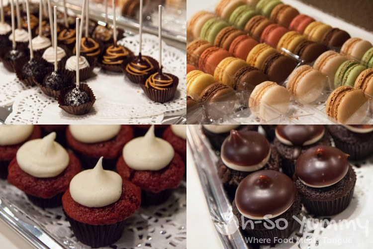 Taste of Downtown 2014 - cupcakes, cake pops and macaroons at Heavenly Cupcakes