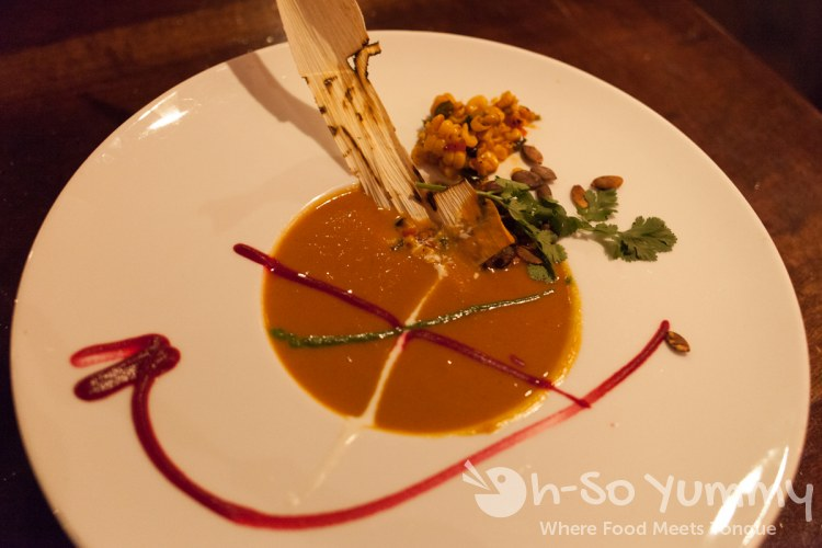 Indigo Grill - Roasted Butternut Squash Soup