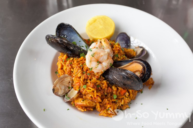 Seafood Paella at Ironside Fish and Oyster Bar in Little Italy