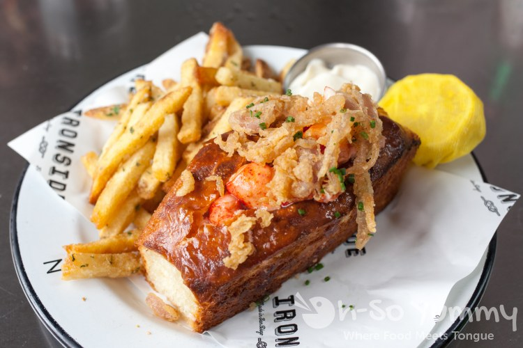 Lobster Roll at Ironside Fish and Oyster Bar in Little Italy