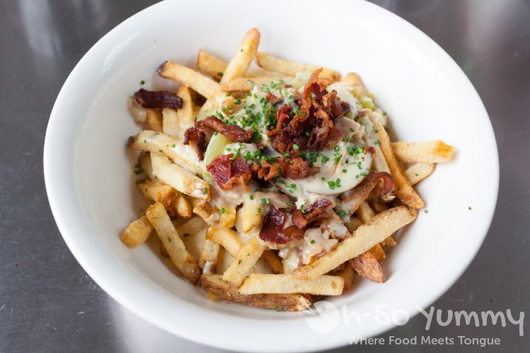 Chowder Fries at Ironside Fish and Oyster Bar in Little Italy