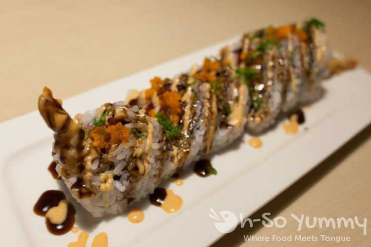 French Kiss Roll at Izumi Japanese Restaurant in Poway, CA