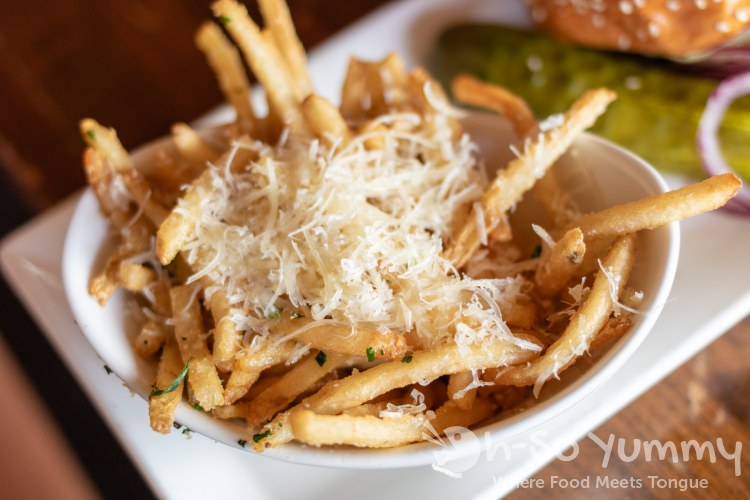Parmesan Truffle Fries at Jimmy's Famous American Tavern in San Diego