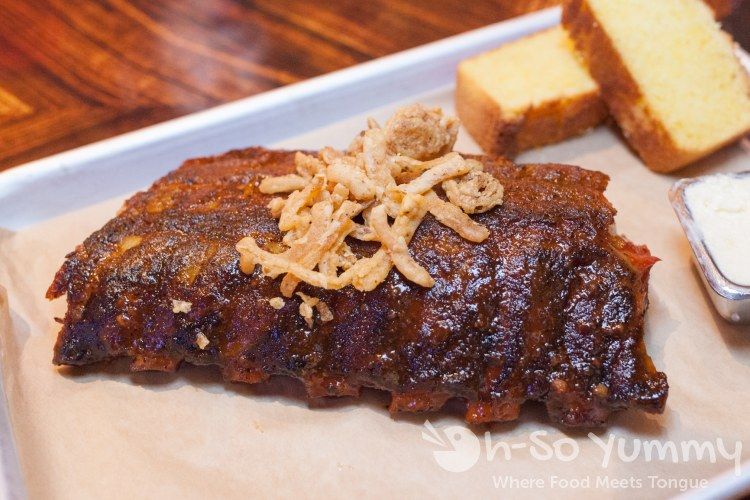ribs at Kelsey's Bar and Grill at Pechanga