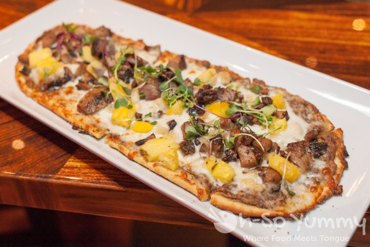 flatbread at Kelsey's Bar and Grill at Pechanga
