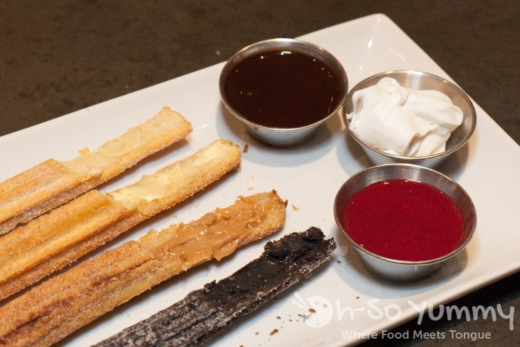 churros at Kelsey's Bar and Grill at Pechanga