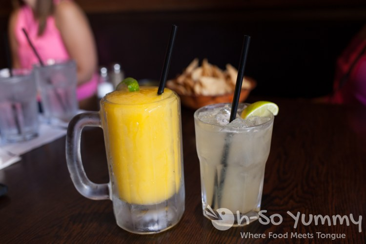 half price drinks during happy hour at La Puerta in San Diego