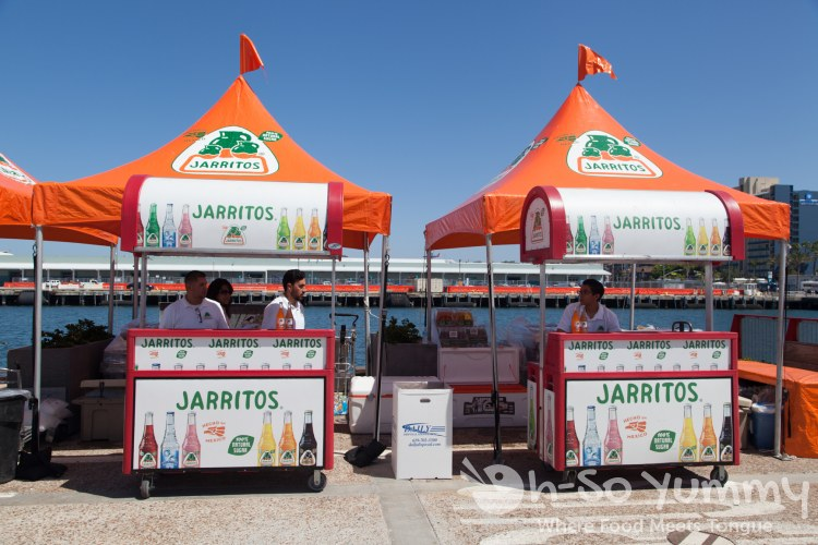 Jarritos made with cane sugar at Latin Food Fest San Diego