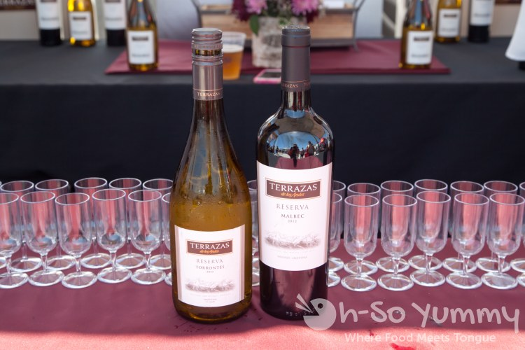 Terrazas de los Andes Wine at Latin Food Fest San Diego