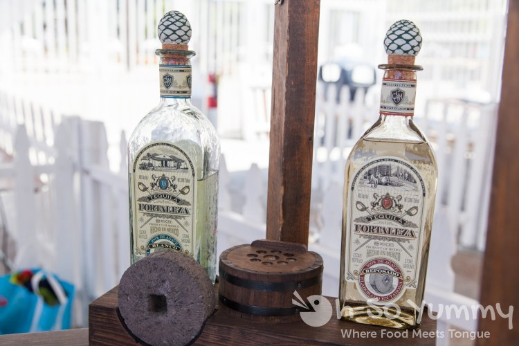 fortaleza tequila at Harborfest Tacos and Spirits