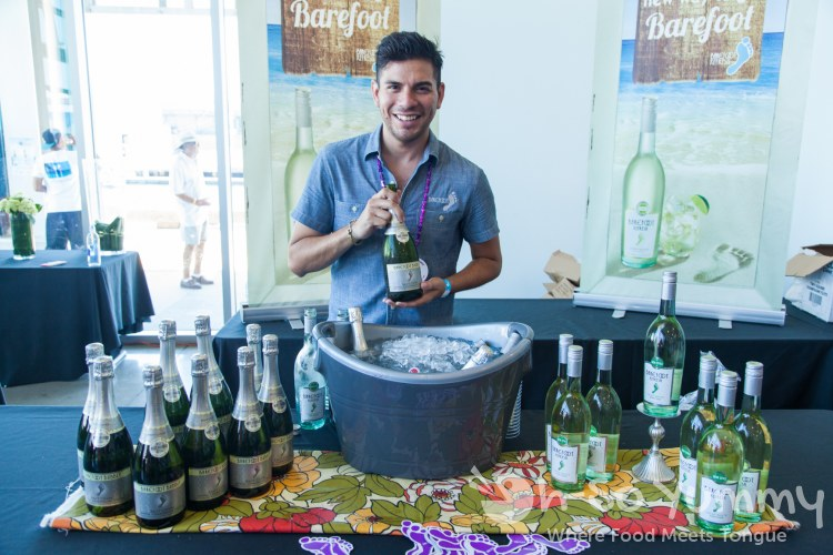 Barefoot Wines at Latin Food Fest San Diego