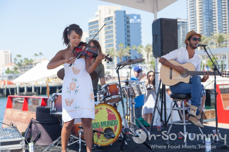 Todo Mundo providing music at Latin Food Fest San Diego