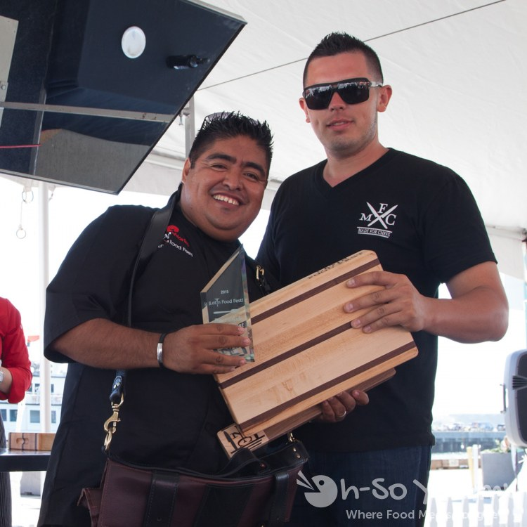 Chef Mario Medina (Bernini's Bistro) wins Best Dish at Latin Food Fest San Diego
